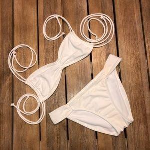 White Hot Victoria's Secret Bikini Size Small